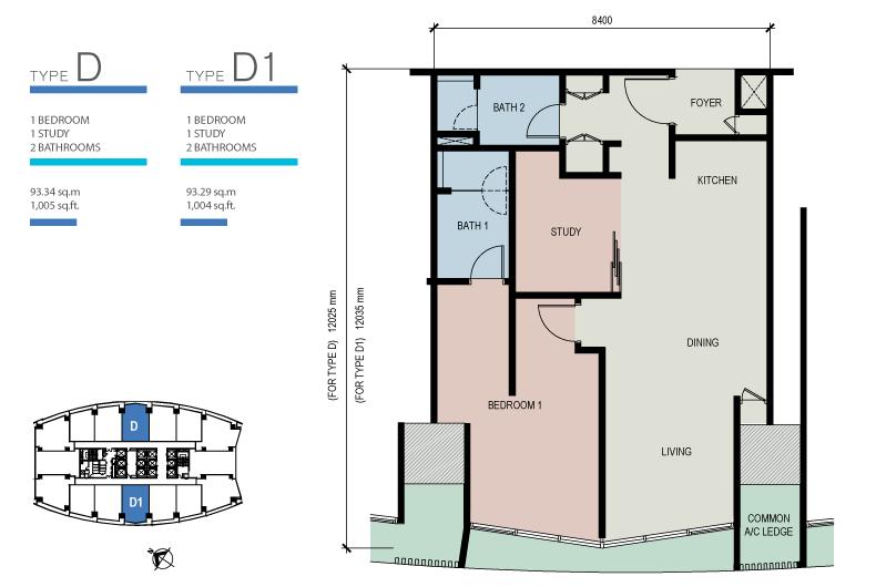 Floor Plans The Azure Residences